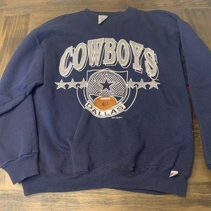 VTG Dallas Cowboys 1990 crewneck xl 90s